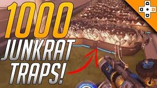 Overwatch FUNNY & WTF Moments 3 - 1000 JUNKRAT TRAPS! - Highlights Montage