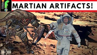 Mars Artifacts proof of alien life on the Red Planet?