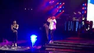 Usher Brings Out Chris Brown and August Alsina in L.A.
