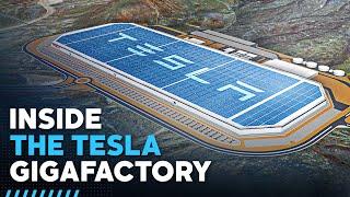 Inside Tesla's $5 billion Gigafactory