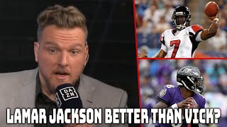 Is Lamar Jackson Better Than Mike Vick?