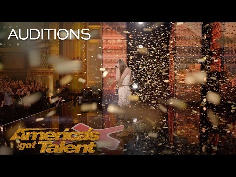 Courtney Hadwin: 13-Year-Old Golden Buzzer Winning Performance - America's Got Talent 2018