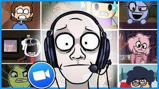 ZOOM CALLS GONE WRONG! // Animated