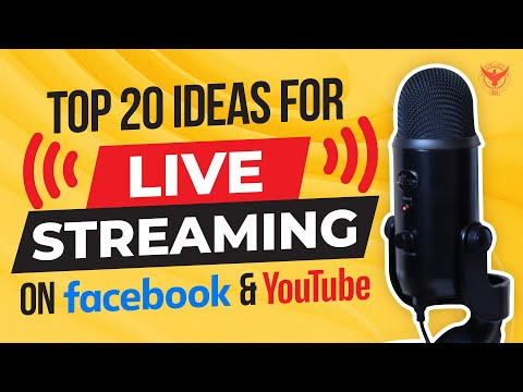 Top 20 Facebook LIVE Ideas For Business [2020]