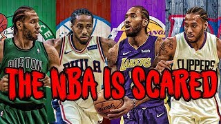Why a Kawhi Leonard Trade SCARES The Warriors!