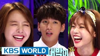 Hello Counselor - Sojin, MinAh(Girl's Day) and Baro, Gongchan(B1A4) (2014.08.25)