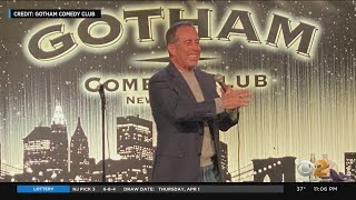 Road To Reopening: Jerry Seinfeld Performs At Gotham Comedy Club
