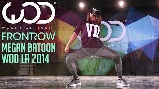 Megan Batoon   FRONTROW   World of Dance #WODLA '14