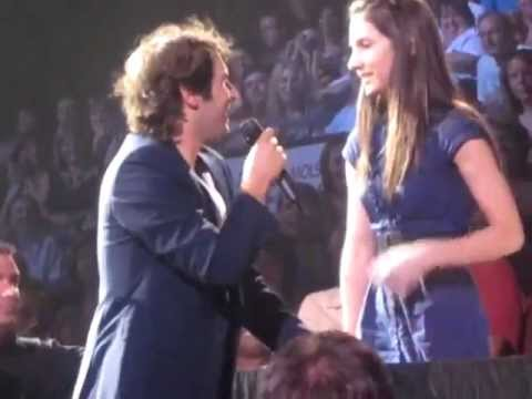 Best audience duet with Josh Groban (multi-angles) - To Where You ...