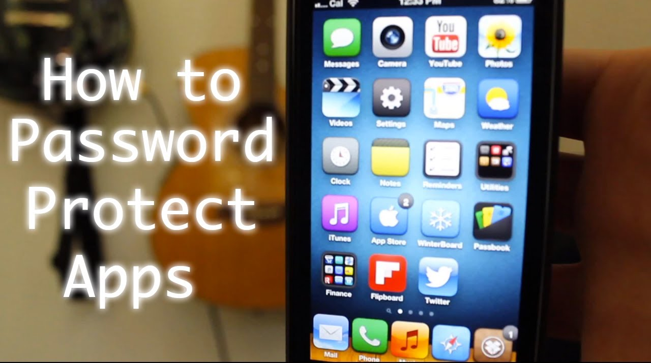 how to lock apps on iphone how to password protect iphone apps folders with applocker 18902