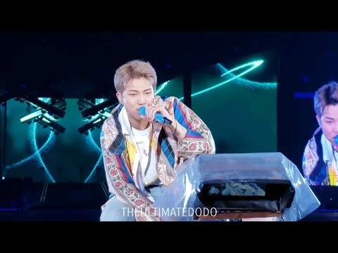190511 Trivia: Love RM Namjoon @ BTS 방탄소년단 Speak Yourself Tour Soldier Field Chicago Concert Fancam