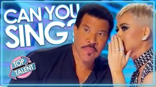 CAN YOU SING TOO? | Most UNEXPECTED Auditions On American Idol! | Top Talent