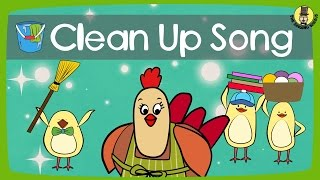 Clean Up Song   Tidy Up Song   The Singing Walrus