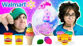 Cash or Trash? Testing 3 Walmart Craft Kits Stuffaloons, Window Art, Fake Play doh
