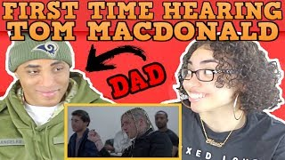 MY DAD REACTS TO TOM MACDONALD | WHITEBOY REACTION | TOM MACDONALD DEAR RAPPERS REACTION