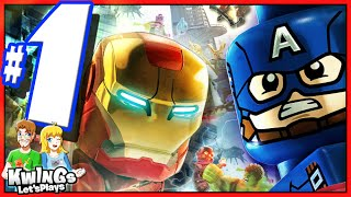 LEGO Marvel Avengers: Walkthrough Part 1 Struck off the List!