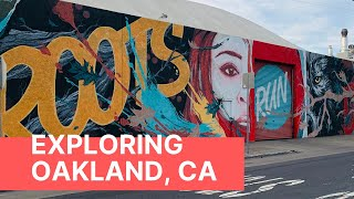 WELCOME to OAKLAND - TOUR of SAN FRANCISCO EAST BAY #travelvlog