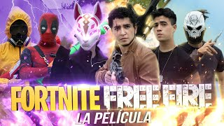 FORTNITE VS FREE FIRE EN LA VIDA REAL! - LA PELÍCULA -Changovision - Free Fire (película, parodia)