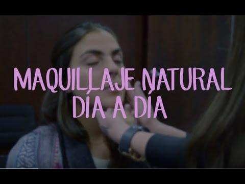 Tutorial de Maquillaje Natural Paso a Paso - Maquillaje Diario