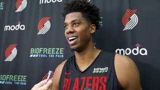 """Whiteside: """"We're Still Getting The Timing Down"""""""