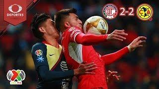 ¡Empate de infarto! | Toluca 2 - 2 América | Liga Mx - A18 Cuartos (Ida) | Televisa Deportes