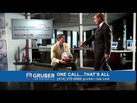 Subtitles - Motorcycle (15 sec) | Gruber Law Offices Commercial