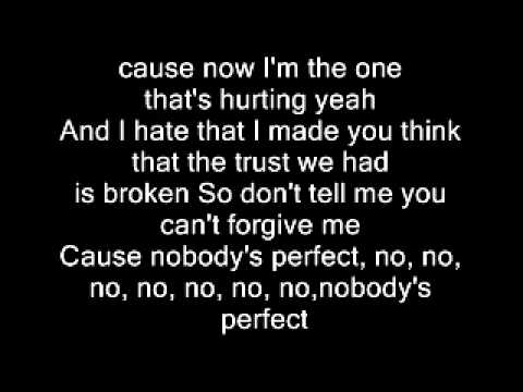 Jessie J - Nobody's Perfect (Lyrics)