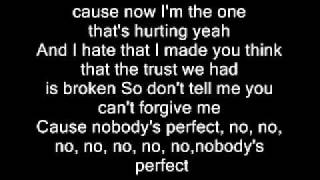 Jessie J - Nobody's Perfect (Lyrics)
