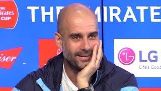 Pep Guardiola Full Pre-Match Press Conference - Newport v Manchester City - FA Cup
