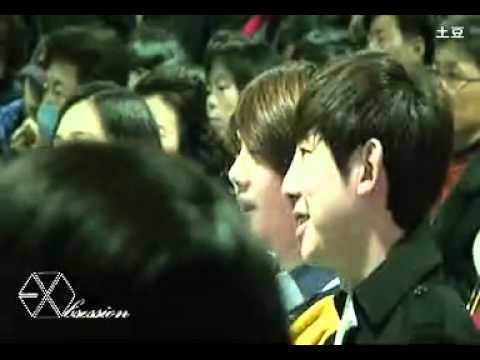 [FANCAM] Sehun Pre Debut Graduation  - So cute