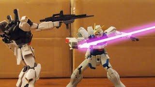 MK II vs Victory - (MS vs MS 03) Gundam Stop Motion 【コマ撮り】