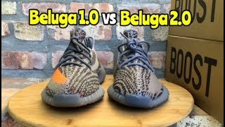 Yeezy 350 BOOST comparison Beluga 1.0 vs Beluga 2.0
