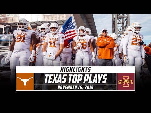 No. 19 Texas Football Highlights vs. Iowa State (2019) | Stadium