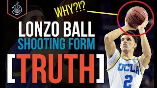 Lonzo Ball Shooting Form (THE TRUTH)
