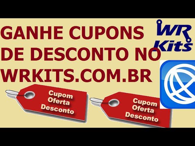 GANHE CUPONS DE DESCONTO NO WRKITS.COM.BR!