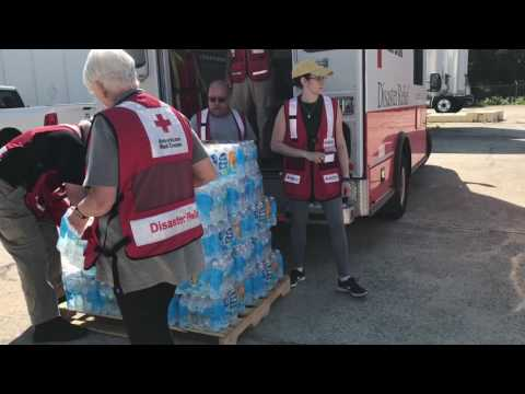 American Red Cross CEO Gail McGovern gives an update from North Carolina on relief efforts for Hurricane Matthew survivors.