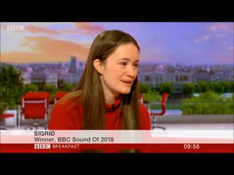 Sigrid BBC Breakfast 2018