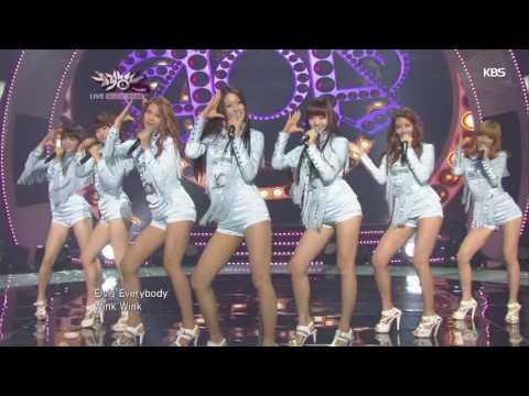[뮤뱅] AOA - ELVIS 20120817