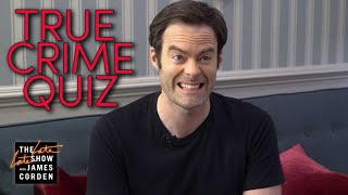 Bill Hader Murders a Quiz About True Crime