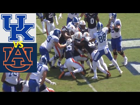 Kentucky vs Auburn Football Game Highlights 9 26 2020