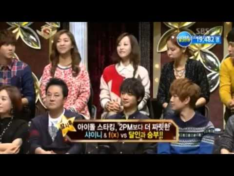121117 Victoria Singing Kyuhyun's part of SFS Starking ep 290