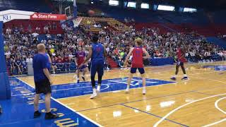 Highlights from KU basketball summer camp scrimmage