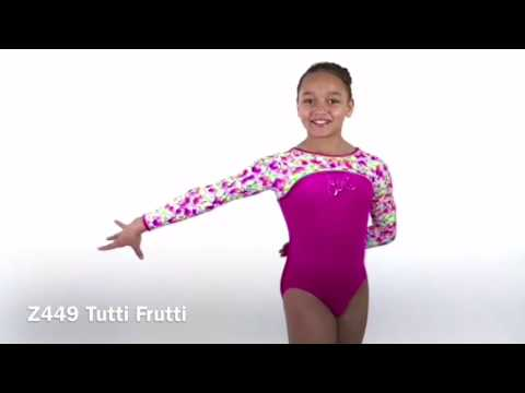 Tutti Frutti Long Sleeve Leotard