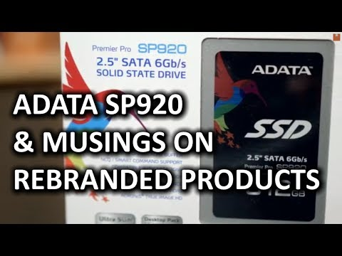 ADATA SP920 SSD & Some Thoughts On Rebranding Products - Smashpipe Tech