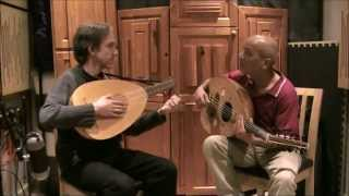 Adel Salameh - Adel Salameh, 'ud and Jacob Heringman, lute, playing Cantiga