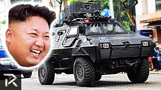 10 Crazy Things Kim Jong-Un Owns To Protect Himself