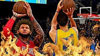 NBA 2K16 MyCAREER S3 - CAM Vs CURRY 3 POINT SHOOTOUT BATTLE! | MOST UNBELIEVABLE CHEAT ENDING EVER!