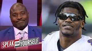Speak For Yourself | Wiley IMPRESSED Baltimore Ravens dominate Cleveland Browns 38-6, Lamar MVP: 3TD