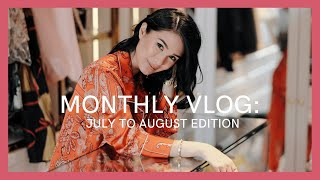 MONTHLY VLOG: JULY TO AUGUST EDITION | Heart Evangelista