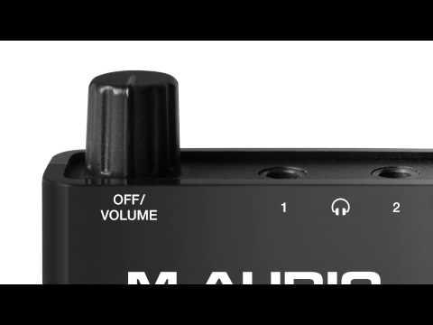 Introducing the M-Audio Bass Traveler
